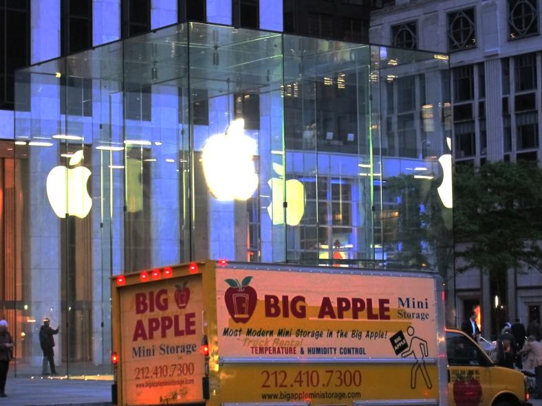 Big Apple . . .