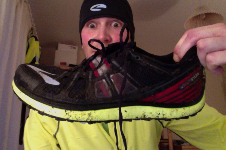 Brooks Pure Grit 2 - After some 'puddle jumping' (Same Day)